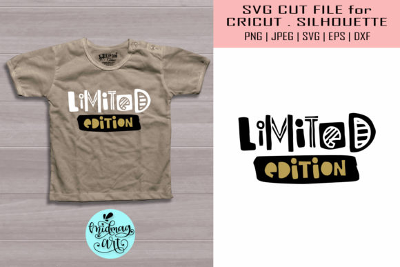 Download Free Limited Edition Baby Shirt Graphic By Midmagart Creative Fabrica SVG Cut Files