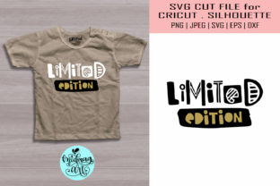 Download Free Limited Edition Baby Shirt Graphic By Midmagart Creative Fabrica for Cricut Explore, Silhouette and other cutting machines.