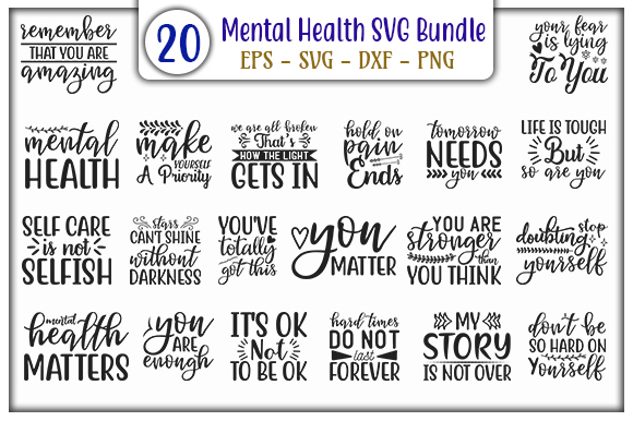 Mental Health Design Bundle Graphic By Graphicsbooth Creative