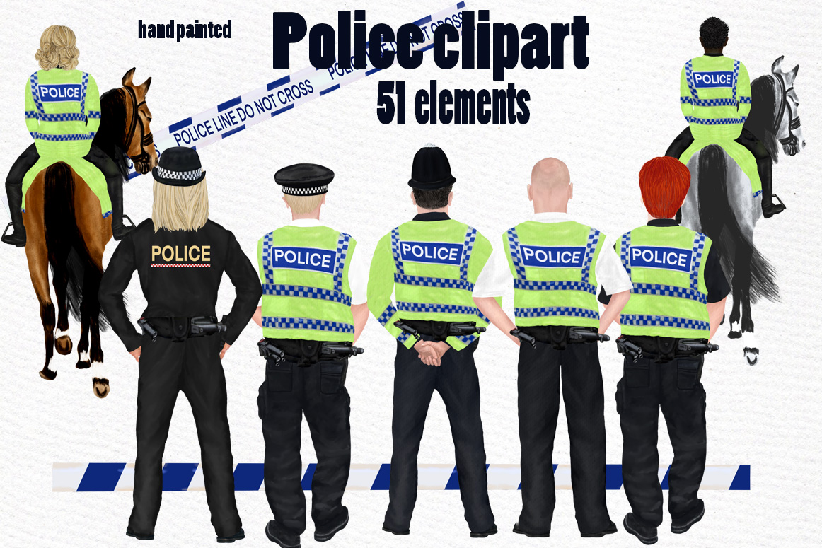 Download Free Uk Police Clipart Graphic By Lecoqdesign Creative Fabrica for Cricut Explore, Silhouette and other cutting machines.
