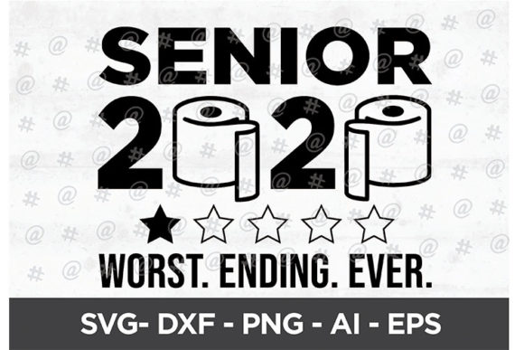 Download Free Senior 2020 Worst Ending Ever Svg Design Graphic By Spoonyprint Creative Fabrica for Cricut Explore, Silhouette and other cutting machines.