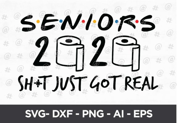 Seniors 2020 Quarantined Design Graphic Crafts By spoonyprint