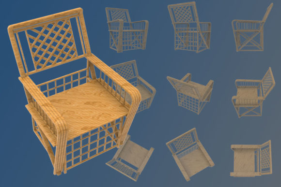 Print on Demand: Illustration from a Chair Graphic Illustrations By Gblack Id