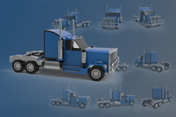 Print on Demand: Illustration from a Truck Graphic Illustrations By Gblack Id