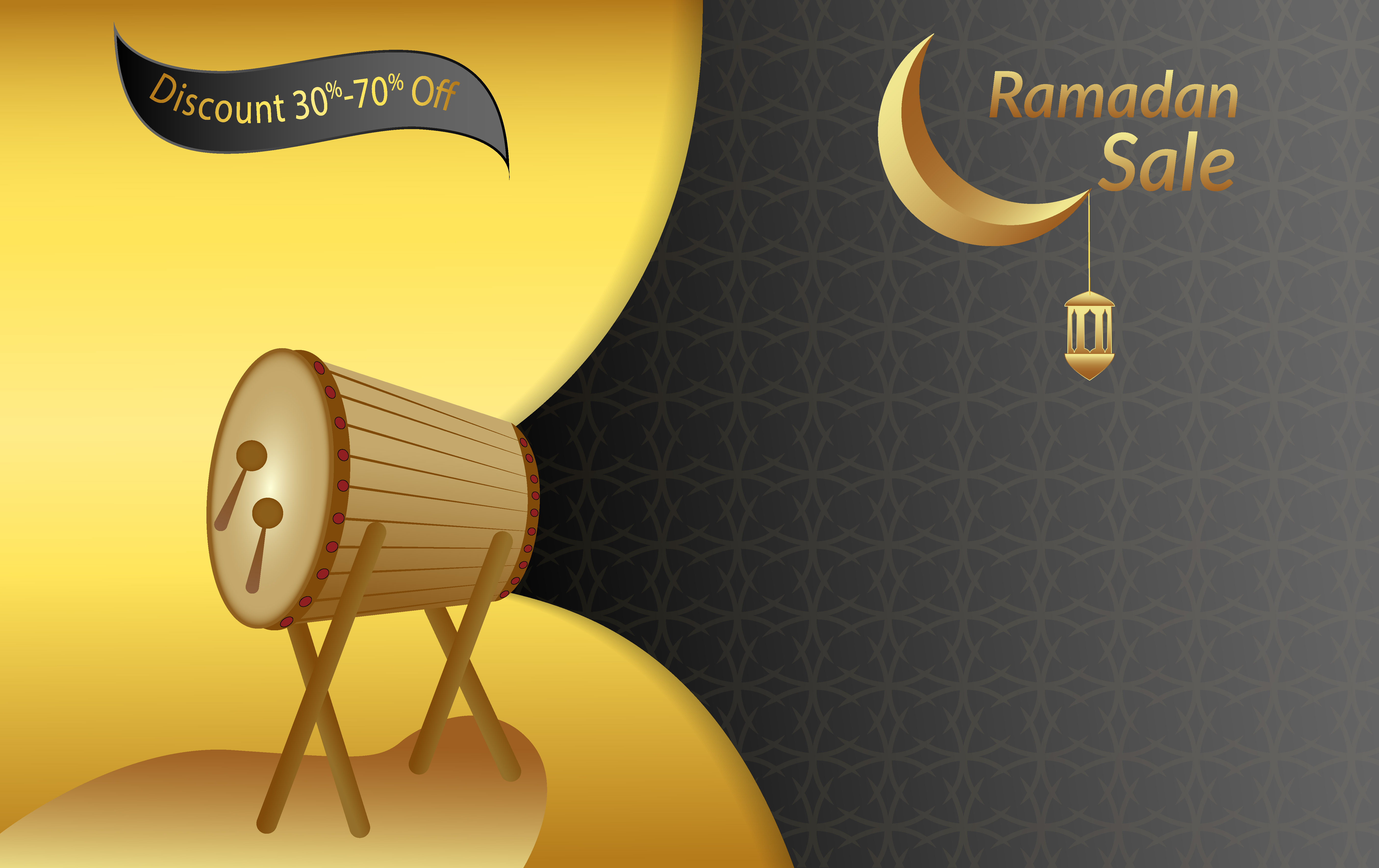 Download Free Ramadan Graphic By Usmanfirdaus446 Creative Fabrica for Cricut Explore, Silhouette and other cutting machines.
