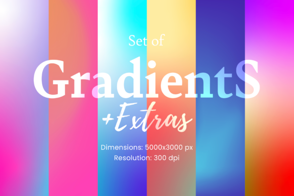 Print on Demand: 72 Gradients, Backgrounds and Textures Graphic Textures By Simply Swapnil