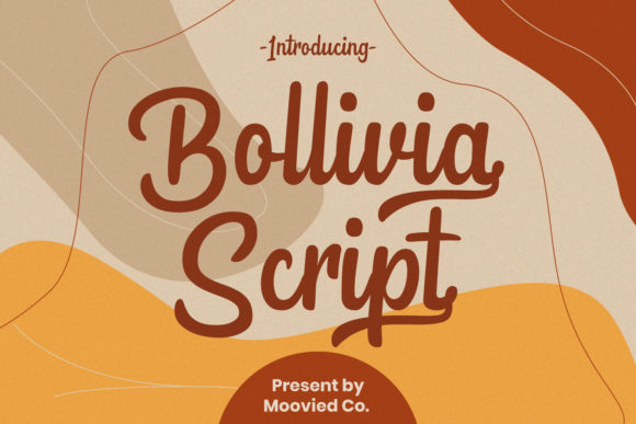 Print on Demand: Bollivia Script & Handwritten Font By Temp here