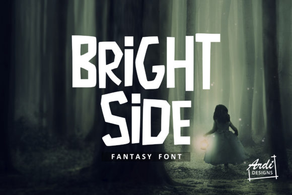 Print on Demand: Bright Side Display Font By ArdiDesigns
