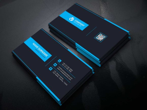 Print on Demand: Business Card Template Graphic Print Templates By graphicidenic