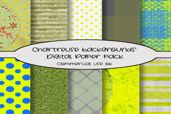 Chartreuse Background Patterns Graphic By A Design In Time