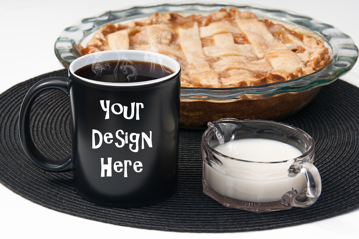 Download Free Coffee Mug Mockup Printful With Pie Graphic By A Design In Time for Cricut Explore, Silhouette and other cutting machines.