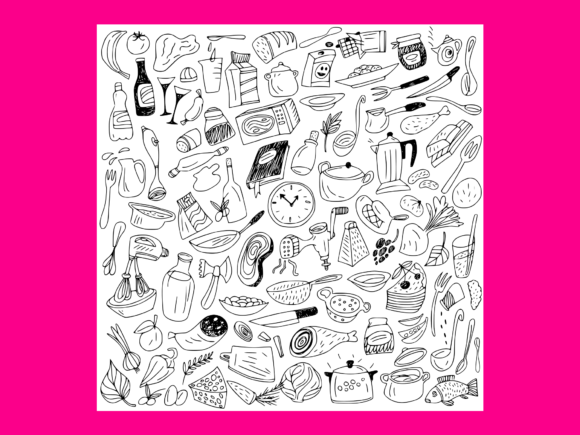 Download Free Ecology Doodles Vector 2 Grafico Por Anrasoft Creative Fabrica for Cricut Explore, Silhouette and other cutting machines.