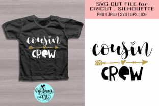 Download Free Cousin Crew Kids Shirt Graphic By Midmagart Creative Fabrica for Cricut Explore, Silhouette and other cutting machines.