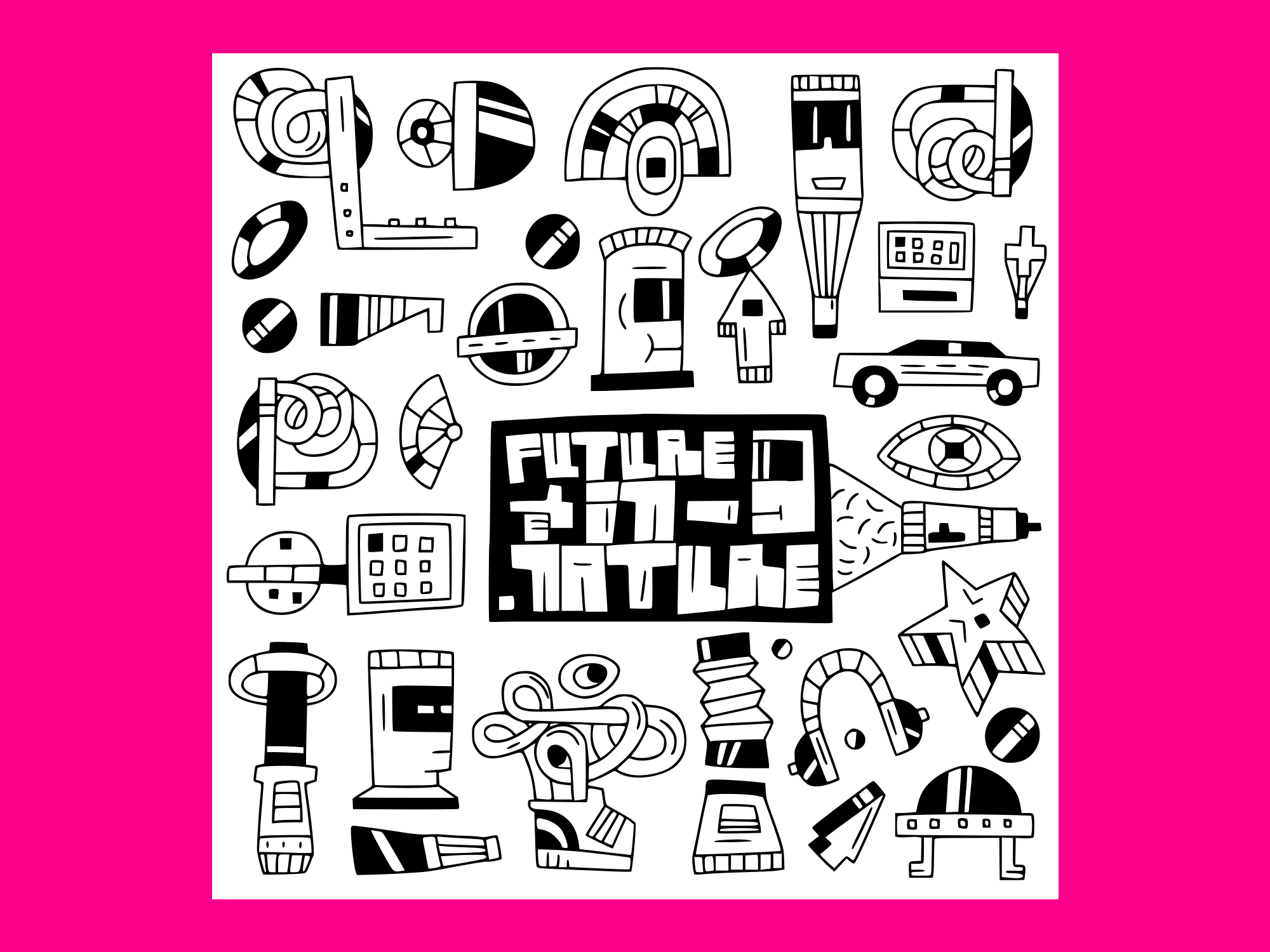 Download Free Devicesfuturerobots Toys Doodles Vector Grafik Von Anrasoft for Cricut Explore, Silhouette and other cutting machines.