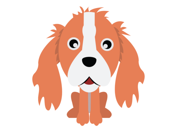 Download Free Dog Flat Design Icon Outline Graphic By Isalsemarang Creative for Cricut Explore, Silhouette and other cutting machines.