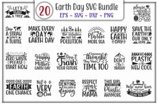 Print on Demand: Earth Day Design Bundle Graphic Print Templates By GraphicsBooth