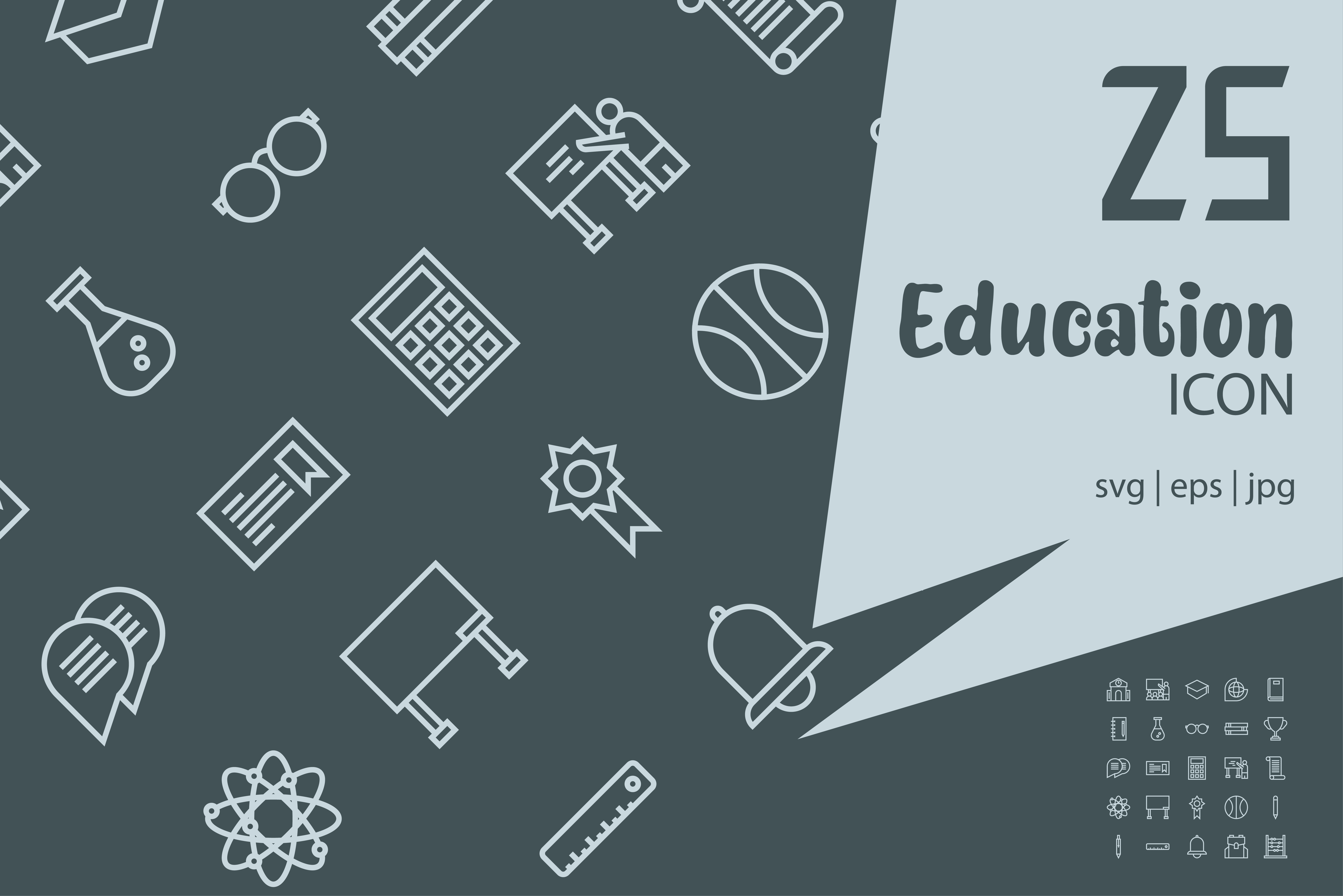 Download Free Education Graphic By Astuti Julia92 Creative Fabrica for Cricut Explore, Silhouette and other cutting machines.
