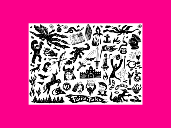 Download Free Science Doodles Collection 9 Graphic By Anrasoft Creative Fabrica for Cricut Explore, Silhouette and other cutting machines.
