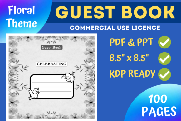 Download Free Blank Sketchbook Kdp Interior Graphic By Mastery Templates for Cricut Explore, Silhouette and other cutting machines.
