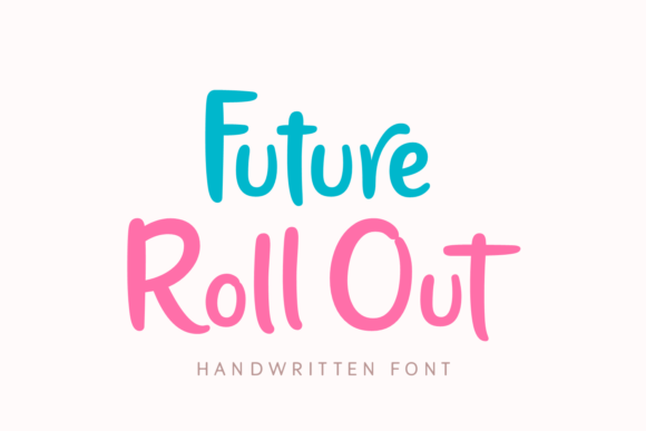 Print on Demand: Future Roll out Script & Handwritten Font By Situjuh