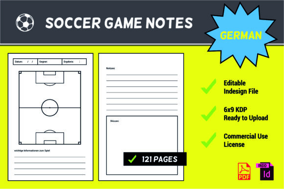 German KDP Interior I Soccer Game Notes Graphic KDP Interiors By German KDP Interior Shop