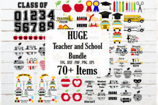 Teacher, Back to School Bundle Graphic Crafts By redearth and gumtrees