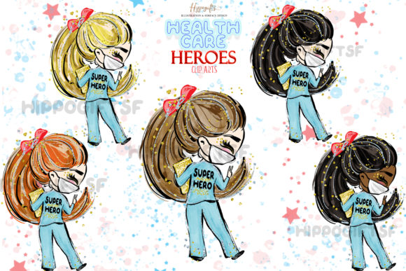 Download Free Healthcare Heroes Cliparts Graphic By Hippogifts Creative Fabrica SVG Cut Files