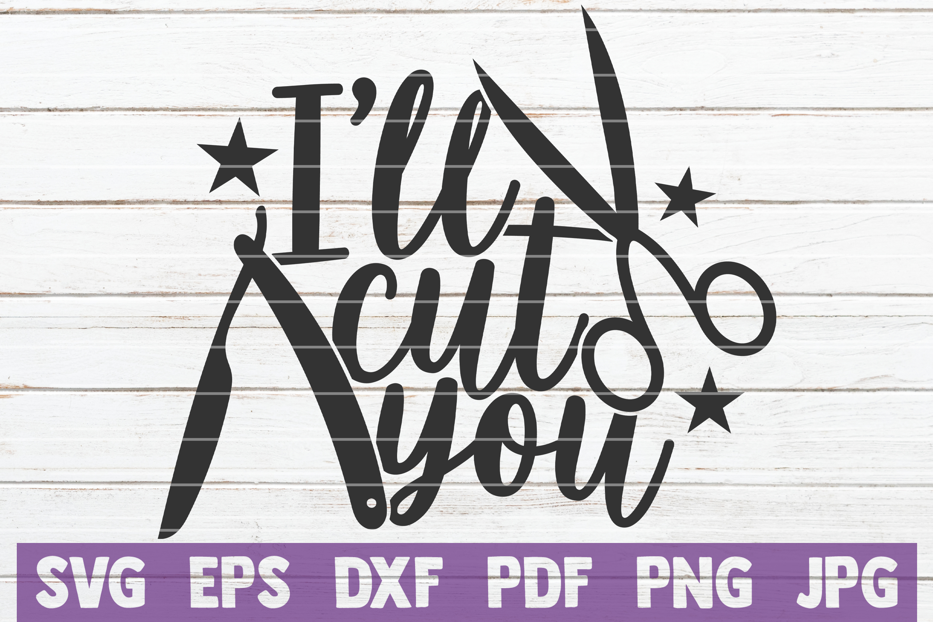 Download Free I Ll Cut You Graphic By Mintymarshmallows Creative Fabrica for Cricut Explore, Silhouette and other cutting machines.