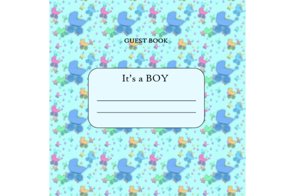 Download Free Its A Boy Guest Book Kdp Interior Grafico Por Mastery for Cricut Explore, Silhouette and other cutting machines.