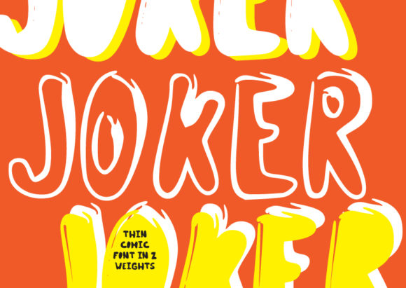 Print on Demand: Joker Display Font By GraphicsBam Fonts