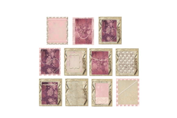 Download Free Lavender Pearls Journal Scrapbook Kit Grafico Por Scrapbook for Cricut Explore, Silhouette and other cutting machines.