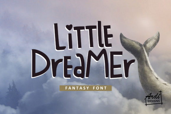 Print on Demand: Little Dreamer Display Font By ArdiDesigns