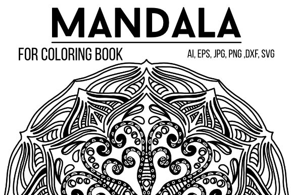 Download Free Mandala Graphics 72 Graphic Graphic By Stanosh Creative Fabrica for Cricut Explore, Silhouette and other cutting machines.