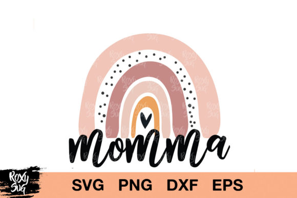 Print on Demand: Momma Graphic Crafts By roxysvg26