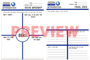 Ocean Plastics: Clean Up Invention Graphic 4th grade By Saving The Teachers