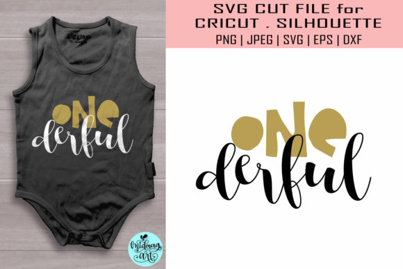 Download Free One Derful First Birthday Graphic By Midmagart Creative Fabrica for Cricut Explore, Silhouette and other cutting machines.