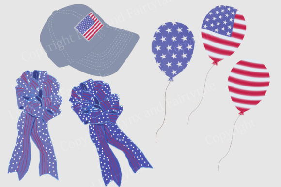 Download Free Patriotic 4th Of July Clipart Graphic By Lynx And Fairytale for Cricut Explore, Silhouette and other cutting machines.