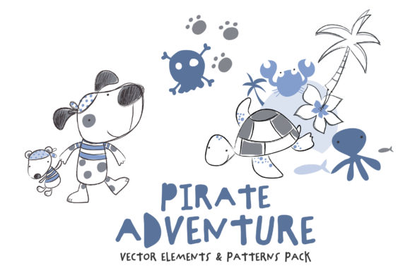Pirate Adventure Pack Graphic Illustrations By SmartDesigns