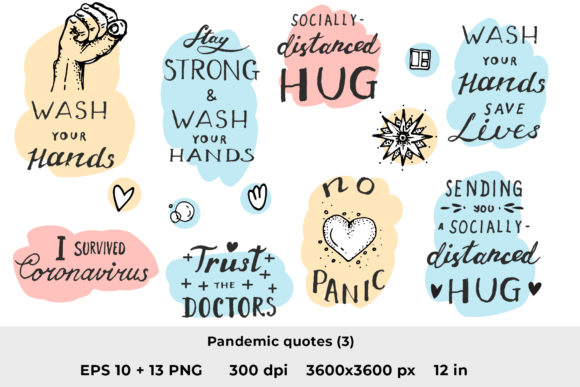 Download Free Quarantine Quotes 3 Graphic By Ramandu Creative Fabrica for Cricut Explore, Silhouette and other cutting machines.