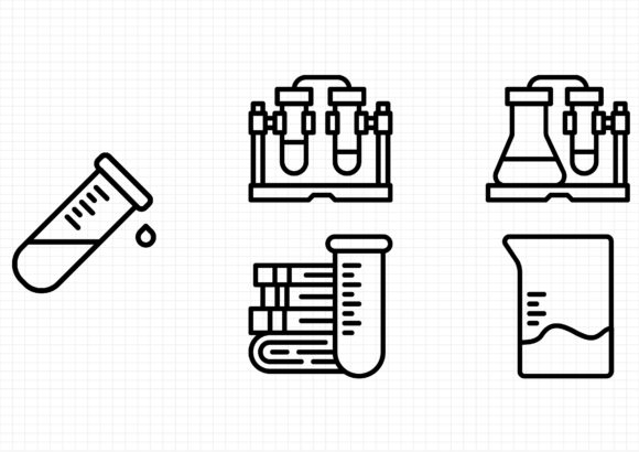 Science Graphic Icons By gantengagif7