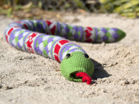 Download Free Shape Teaching Fair Isle Snake Pattern Graphic By Knit And for Cricut Explore, Silhouette and other cutting machines.