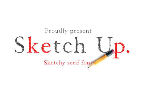 Print on Demand: Sketchup Display Font By Cititype