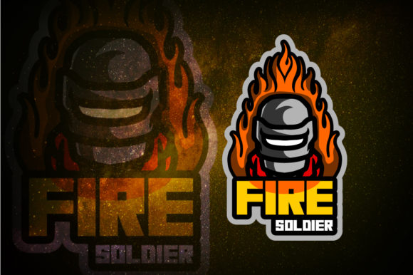 Soldier E-Sport Logo Graphic Free Download