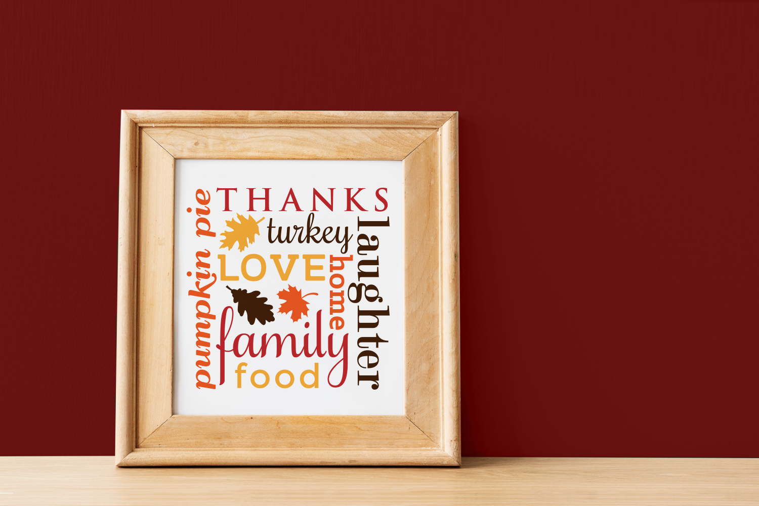Download Free Thanksgiving Subway Art Graphic By Designedbygeeks Creative for Cricut Explore, Silhouette and other cutting machines.