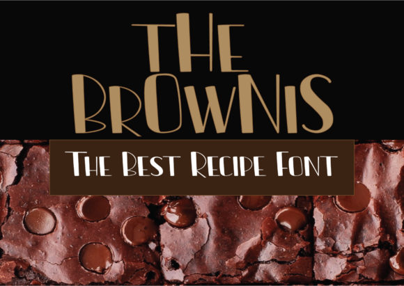 Print on Demand: The Brownis Script & Handwritten Font By syafiiirman