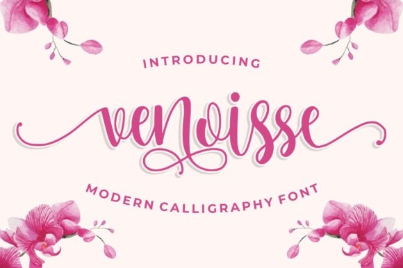 Print on Demand: Venoisse Script & Handwritten Font By goodjavastudio