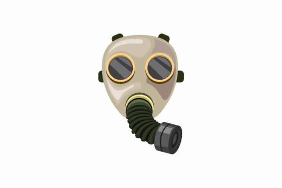 Download Free Vintage Army Gas Mask Hose Repirator Graphic By Aryo Hadi for Cricut Explore, Silhouette and other cutting machines.