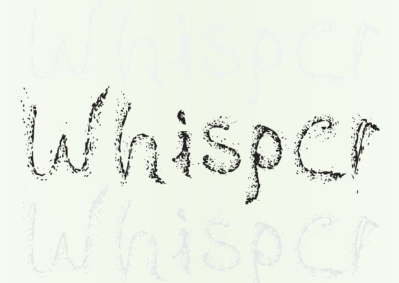 Print on Demand: Whisper Display Font By GraphicsBam Fonts