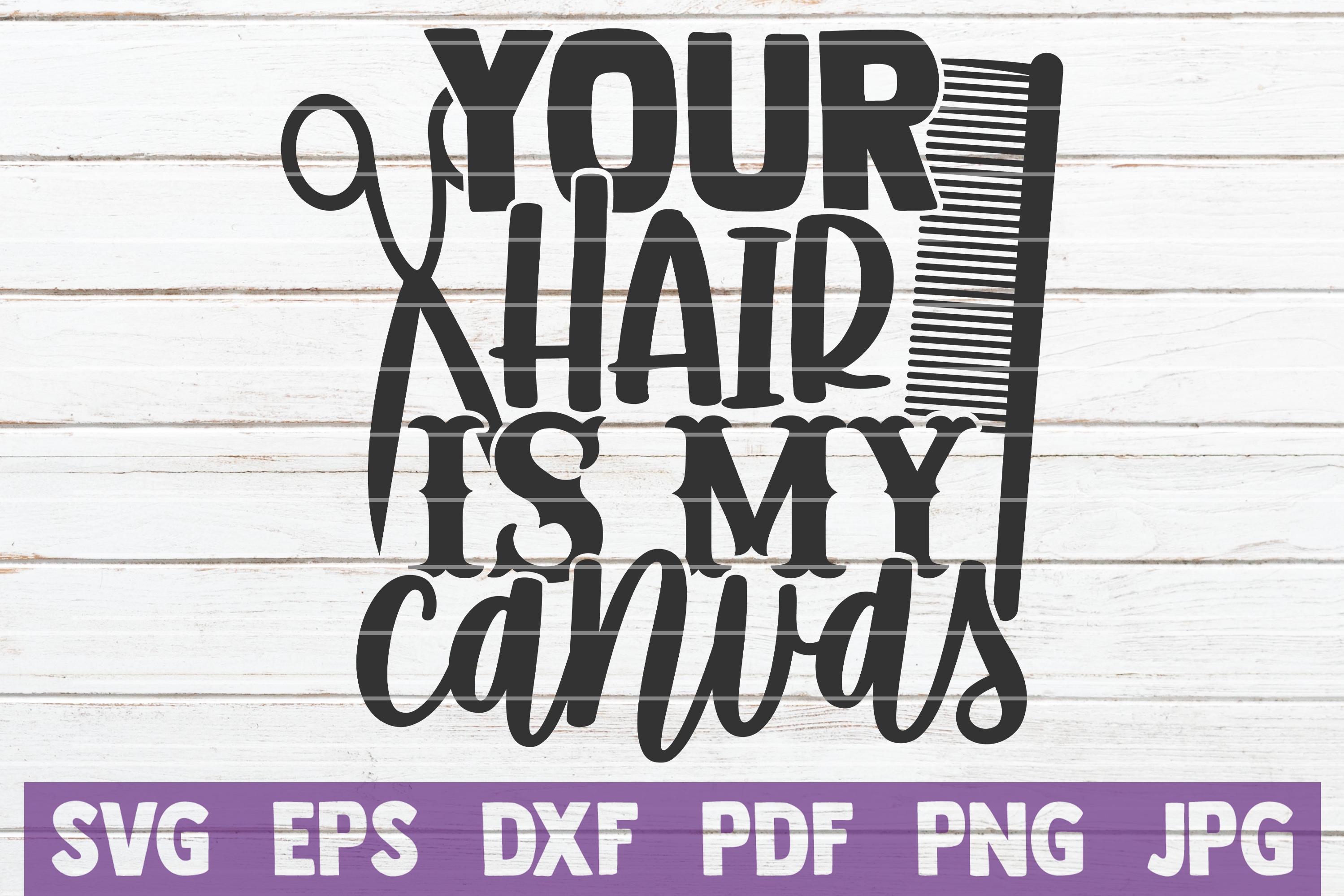 Download Free Your Hair Is My Canvas Graphic By Mintymarshmallows Creative for Cricut Explore, Silhouette and other cutting machines.