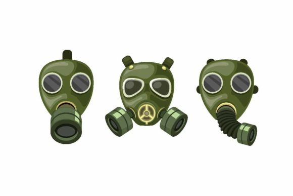 Download Free Army Gas Mask Respirator Collection Set Graphic By Aryo Hadi for Cricut Explore, Silhouette and other cutting machines.